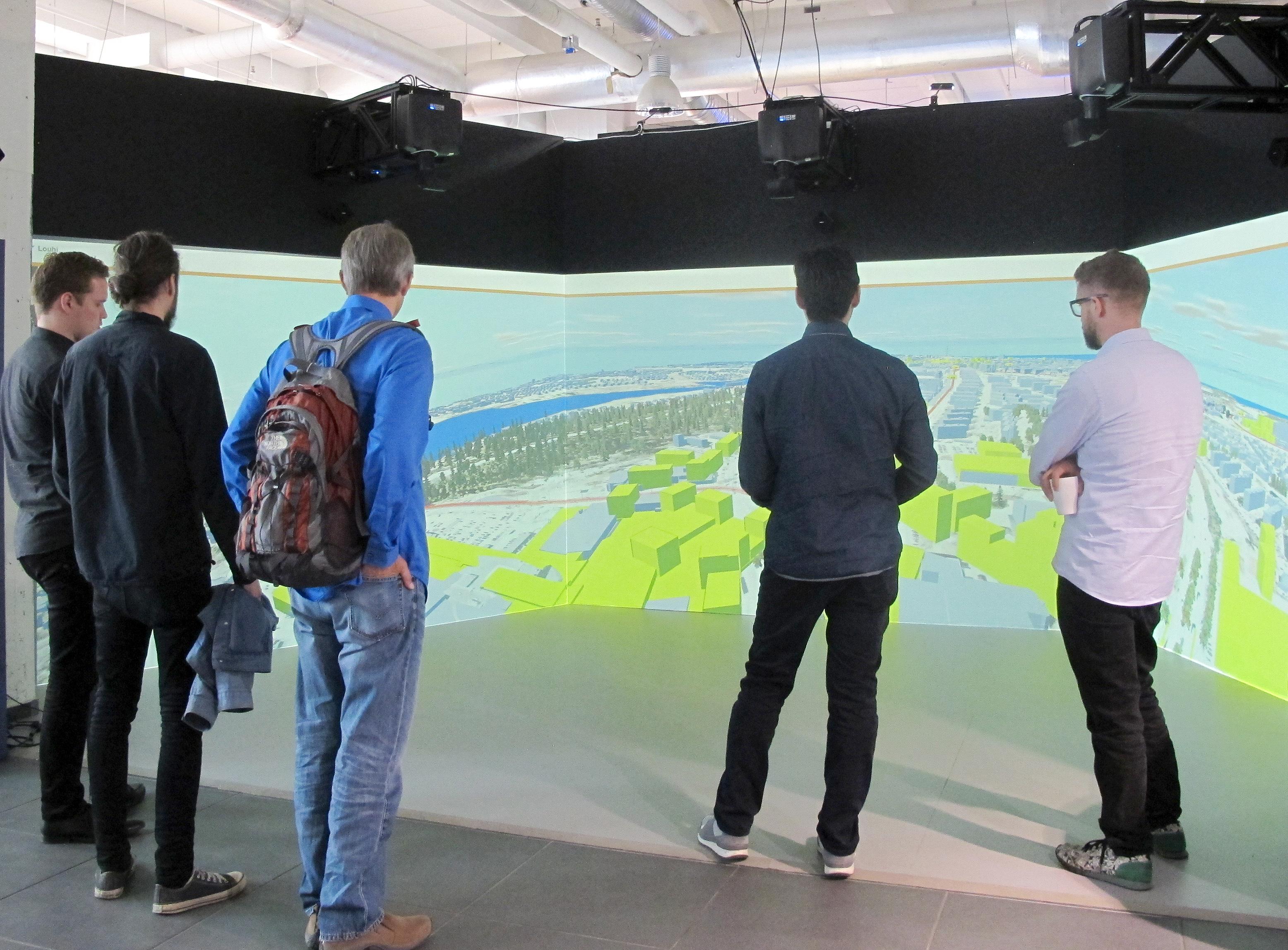 Tampereella 3D-kaupunkimallit jakoon avoimena datana